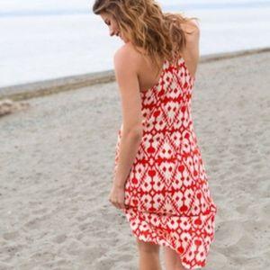 Kavu Jocelyn red and white dress